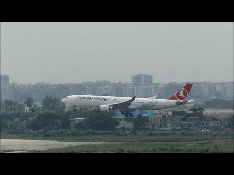 [HD] Plane Spotting @ Hazrat Shahjalal International Airport, Dhaka: Episode-80