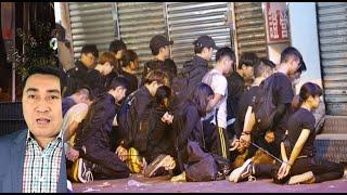 Hồng Kong: Bắt hàng trăm người buộc như xâu cua