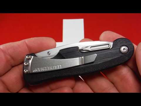 Leatherman Crater multi-tool knife