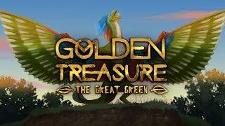 Golden Treasure The Gręat Green - Beautiful Role Playing Dragon Simulator!