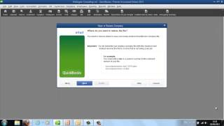 QuickBooks Training | How to restore QuickBooks data