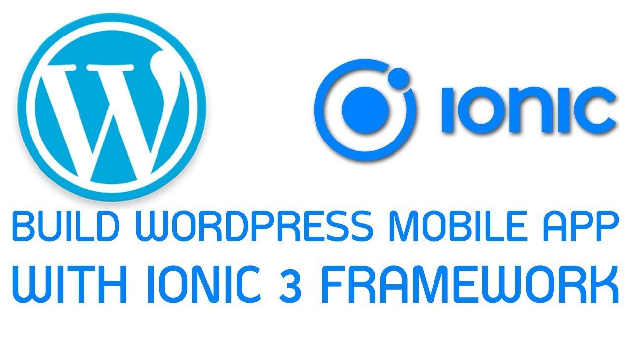 Wordpress Ionic App #10 Design Detail page