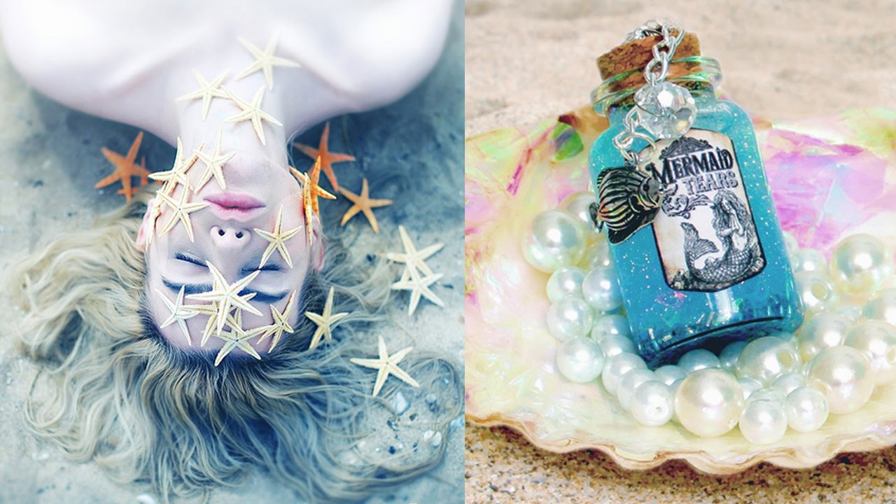 Diy Tumblr Mermaid Ideas For Your Room Room Decor For Mermaids Youtube