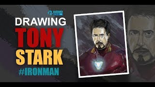 How to draw Ironman   Tony Stark   in Avengers Endgame/Infinitywar suit