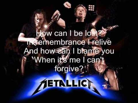The Unforgiven 3 by Metallica  (with lyrics in video!!)