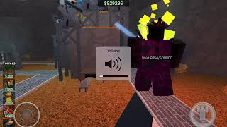 [ROBLOX] Tower Battles Railgunner vs Void (60 FPS)