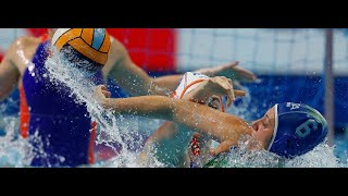 Italy vs Netherlands - Highlights - Waterpolo Women Olympic Qualification