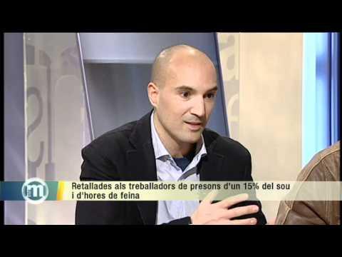 TV3 - Retallades als treballadors de presons, i Erik el Belga, el lladre d'art més famós del món