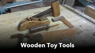 Making Wooden Toy Tools