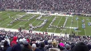 The Penn State Blue Band pregame show.  November 23, 2013.