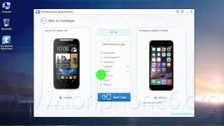 How to Transfer Contacts from HTC Desire 310 to iPhone 6 Plus using Mac/PC ?