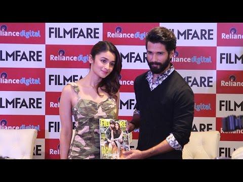 UNCUT - Filmfare Magazine Launch | Shahid Kapoor |  Alia Bhatt