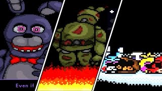 Super FNaF All Endings ( Good / True Ending , Abandoned Ending , Escaped Ending )
