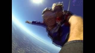 Lloyd Berry's Tandem skydive!