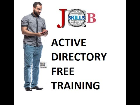 2016 Active Directory Training for IT Support