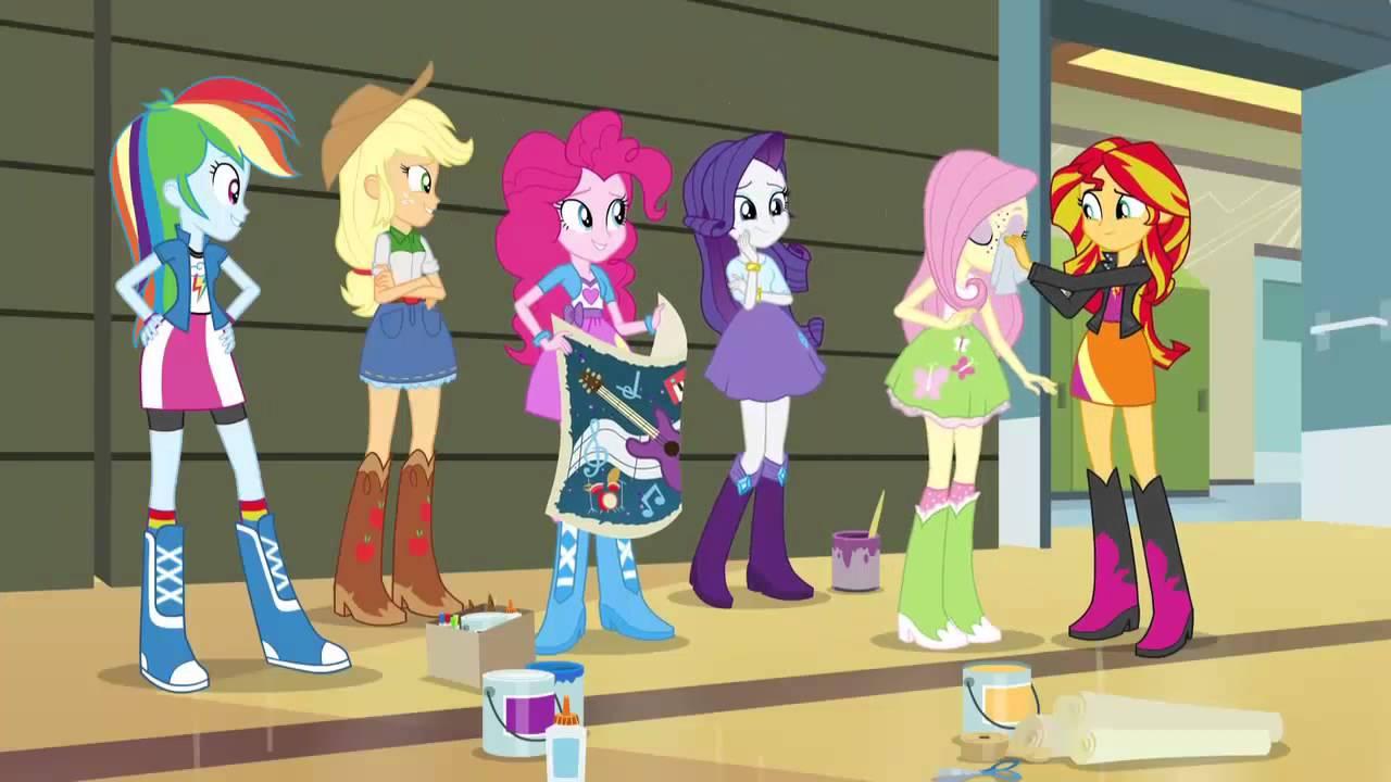 Equestria Girls High School - My Little Pony Games