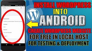 how To Host Wordpress Website In Android For Free Without PC