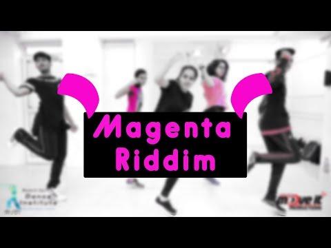 Magenta Riddim | Dj Snake | Mohit Jain's Dance Institute MJDi | Dance Choreography | Beginner Level