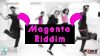 Magenta Riddim | Dj Snake | Mohit Jain's Dance Institute MJDi | Dance Choreography | Beginner Level