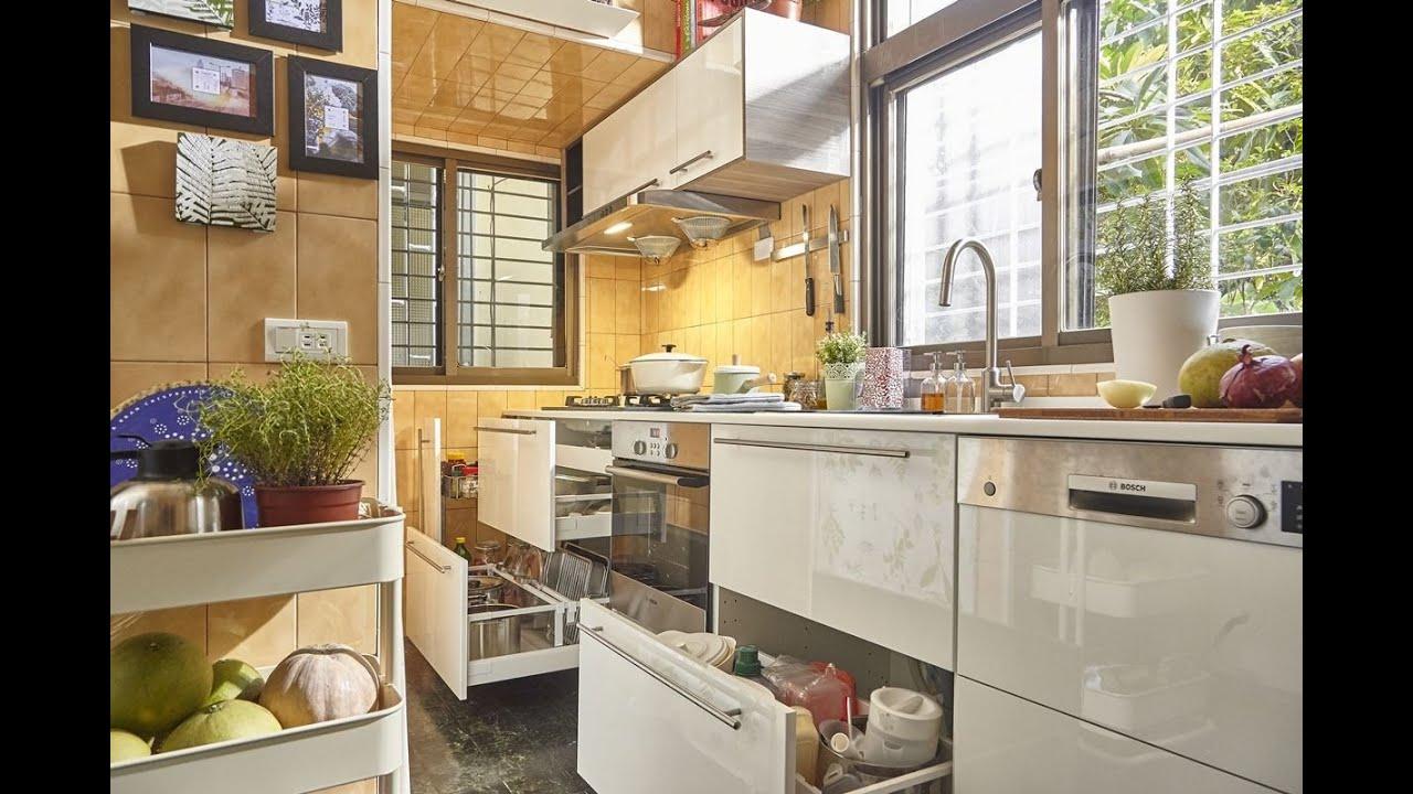 pantry kitchen metal rack 廚房改造 姊弟攜手 將傳統灶咖變身自然風美型廚房 youtube