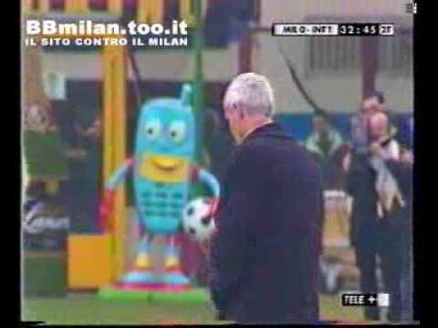 2001-2002 - Milan vs Inter 0-1 Vieri