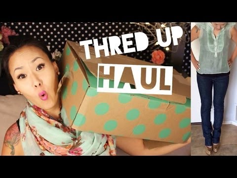 Huge Fashion Haul!! | THRED UP Online Consignment Store!!
