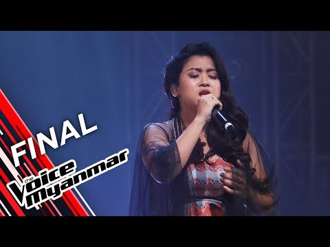 Hazel: တစ္ေက်ာ့ ႏွစ္ေက်ာ့ ေတးကိုသီ (Tin Tin Mya ၊ Thae Nu War) | Final - The Voice Myanmar 2019