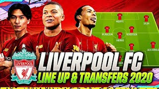 LIVERPOOL JANUARY TRANSFERS TARGETS 2020 & LINE UP 2020 | CONFIRMED TRANSFERS | w MINAMINO & MBAPPÉ