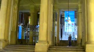 MUSEUM OF ETHNOGRAPHY IN BUDAPEST: ENTRANCE TO LOBBY(, 2010-11-22T00:43:23.000Z)