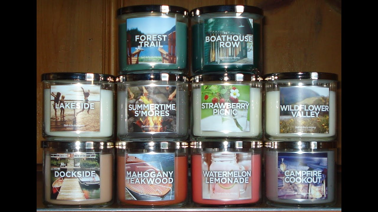 Bath And Body Works Haul Review 2013 Summer Lake