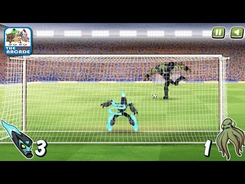 Ben 10: Penalty Power - Fate Of The Galaxy Determined By A Soccer Ball (Cartoon Network Games)