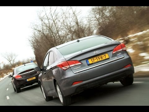 Hyundai i40 vs Opel Insignia english subtitled