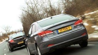 Hyundai i40 vs Opel Insignia english subtitled