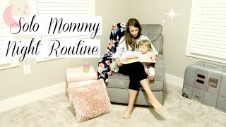 NIGHT TIME ROUTINE OF A MOM 2018 | BED TIME ROUTINE WITHOUT DAD | Toddler | Simply Allie