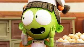 Funny Animated Cartoon | Spookiz | Zizi Spits Out Cookies For Cula | 스푸키즈 | Cartoon for Chil