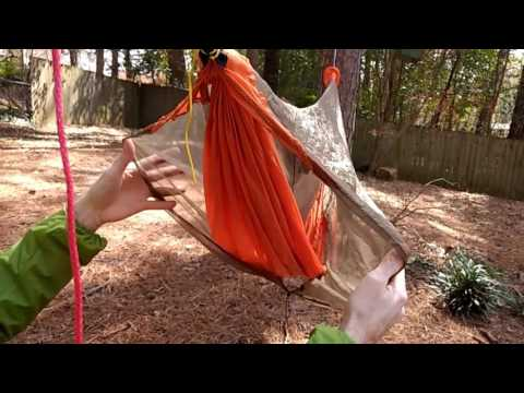 Goatbone Ultralight Hammock and Bug Net