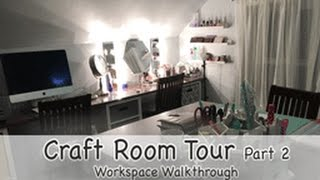 Craft Room Tour 2: Workspace