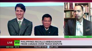 Richard Heydarian RT Interview on Duterte-Canada War