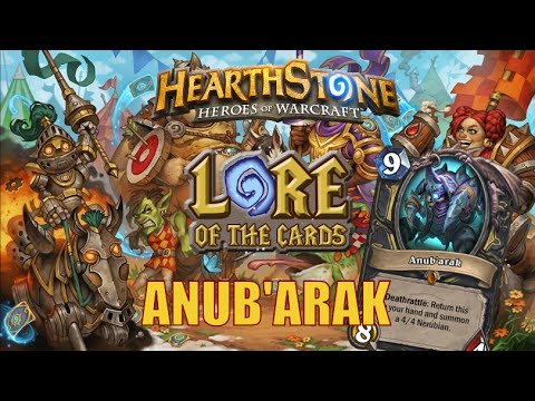 Hearthstone | Lore of the Cards | Anub