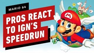 Pro Mario 64 Speedrunners React to OUR Speedrun