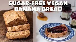 Sugar-Free Vegan Banana Bread | Two Market Girls
