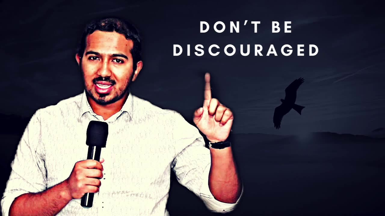 DON'T ALLOW YOURSELF TO BE DISCOURAGED, POWERFUL MESSAGE & PRAYER WITH EVANGELIST GABRIEL F
