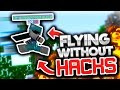 Flying WITHOUT HACKS (Minecraft Skywars)