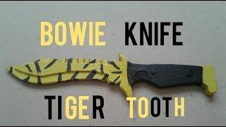 Bowie Knife Tiger Tooth Yapımı [CS-GO]
