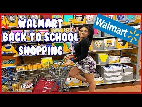 WALMART Back to School Shopping 2019