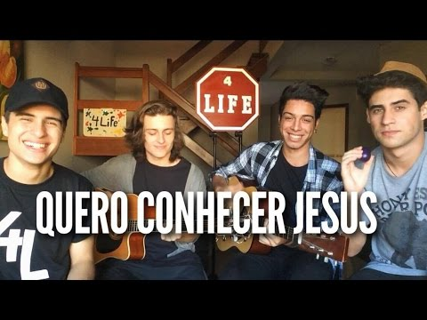 Quero Conhecer Jesus - Alessandro Vilas Boas - 4LIFE (Cover)