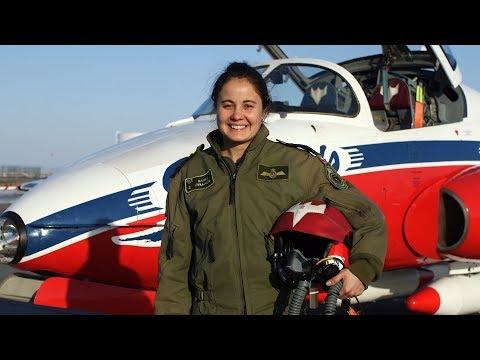 Capt Sarah Dallaire, une passionnée de l'aviation