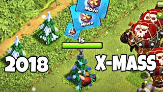 WHAT'S INSIDE CLASH OF CLANS CHRISTMAS TREE 2018 ! COC DECEMBER UPDATED 2018 - Clash of Clans