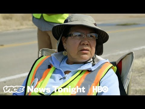 Arizona Residents Are Monitoring Border Patrol Checkpoints (HBO)