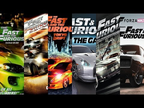 The Evolution Of Fast And Furious Games (2004-2020)